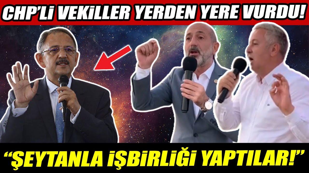 """CHP'li Ali Öztunç ve Çetin Arık Kayseri'de AKP'yi yerden yere vurdu! """"Şeytanla işbirliği yaptılar!"""""""
