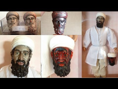 Osama bin Laden Action Figures Made By CIA