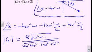 Bode diagram 5 - tutorial sheet on frequency response