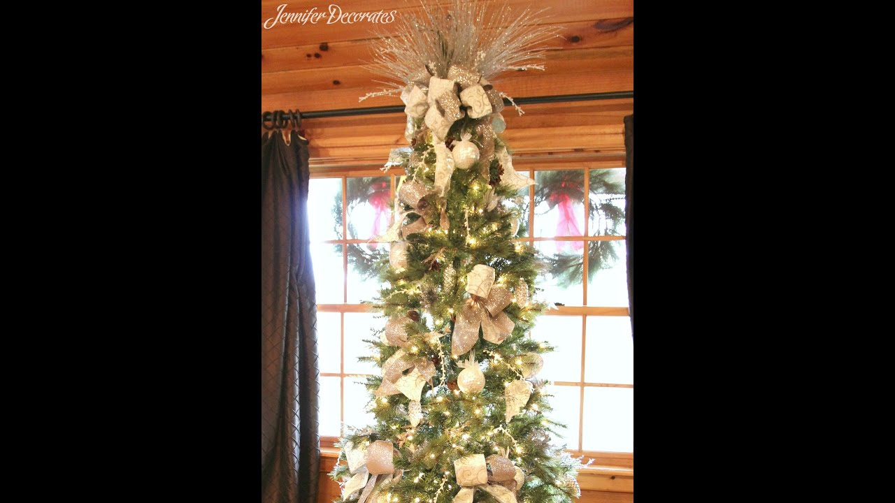 Good Inexpensive Holiday Decorating Ideas Part - 10: Country Christmas Decorating Ideas - Easy And Inexpensive Ideas! - YouTube