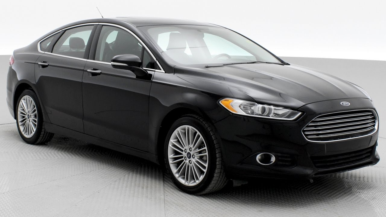 2016 Ford Fusion Se Awd W Luxury Package Ridetime Ca