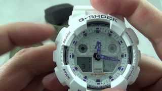 Звірка і налаштування на Casio - G-Shock GA-100A-7A