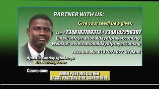 NIGERIA NATIONAL DAY OF PRAYER OUTREACH MINISTRIES