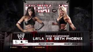 WWE NO WAY OUT Layla vs Beth Phoenix Divas Championship Match Prediction!