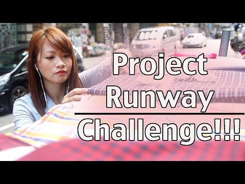 "➳ Project Runway: Threads ""Fashion Capitals"" Hong Kong Challenge"