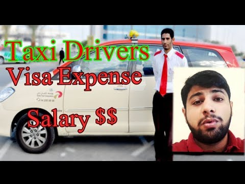 Taxi Drivers jobs in Dubai for 2018 || Salary and Visa expense