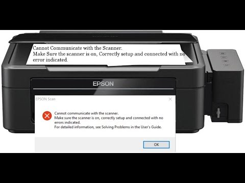 Epson Cannot Communicate with Scaner [SOLVED]