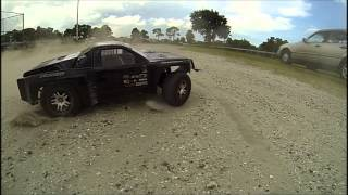 Traxxas Slash 4x4 Mamba Monster 2 2650 kv Slow Motion 240fps