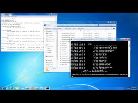 How to do CPU Bitcoin mining on Windows with rpcminer from YouTube · High Definition · Duration:  12 minutes 24 seconds  · 90.000+ views · uploaded on 11.04.2013 · uploaded by howtwos101