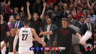 Portland Trail Blazers vs New Orleans Pelicans - Playoffs Game 1 - April 14, 2018