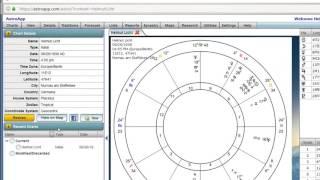 AstroApp Tutorial 4 The Vertical Zodiac Chart
