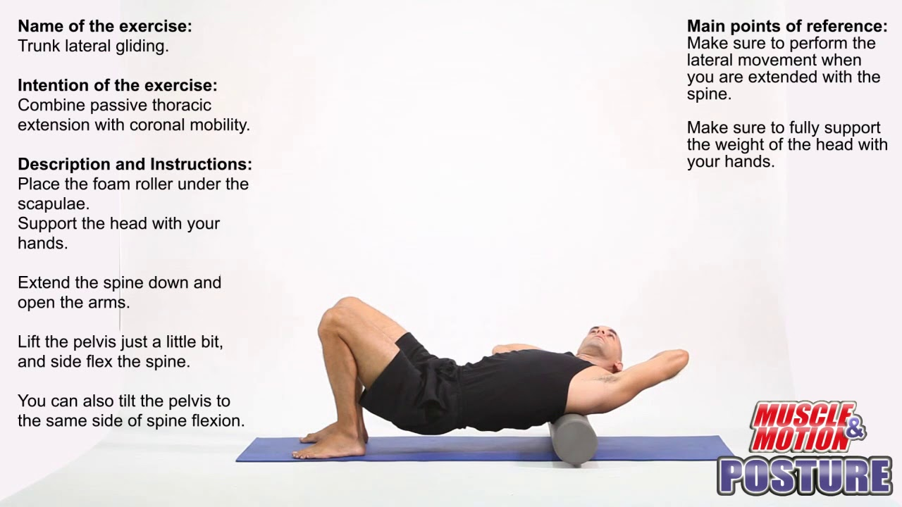 Exercises to Correct Kyphotic Posture