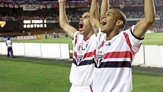 São Paulo 3 x 2 Santos - Campeonato Brasileiro 2002  (Rede Record)