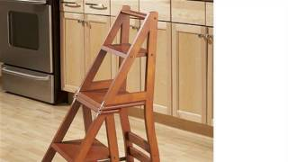 How To : Build A Ben Franklin Ladder Chair