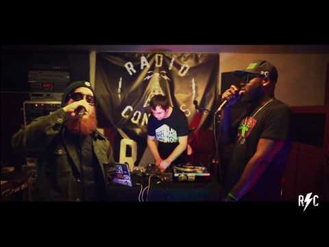 Radio Concuss - Black Magic Noize (MadShroom MC The Brotha Boogie, Araless, and Vaughn Lewis)