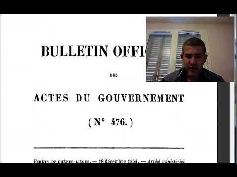 شرح بالتدقيق القانون المشترك وقانون senatus consulte بللجزئرين النسبة للجنسية الفرنسية