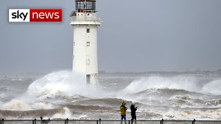 Storm Ciara batters the UK