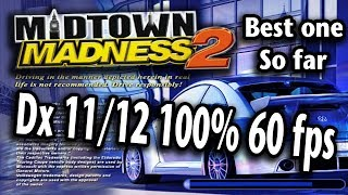 Midtown madness 2 100% performance 60 fps FIX