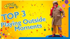 Mr Tumble's Top 3 | Playing Outside Moments | CBeebies