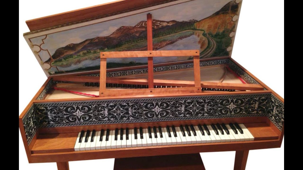 Burton Spinet Harpsichord For Sale