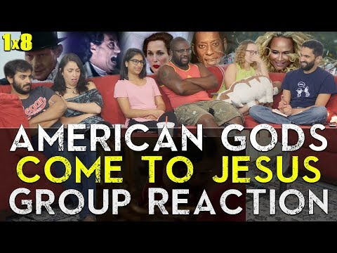 American Gods - 1x8 Come to Jesus - Group Reaction