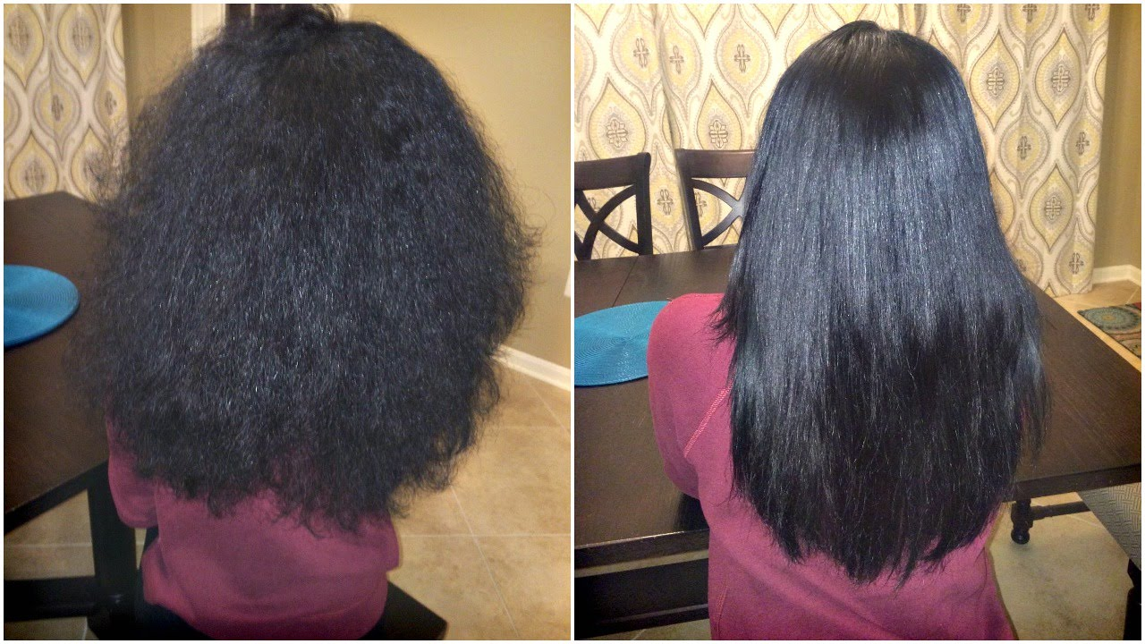 How to straighten hair without harm to hair