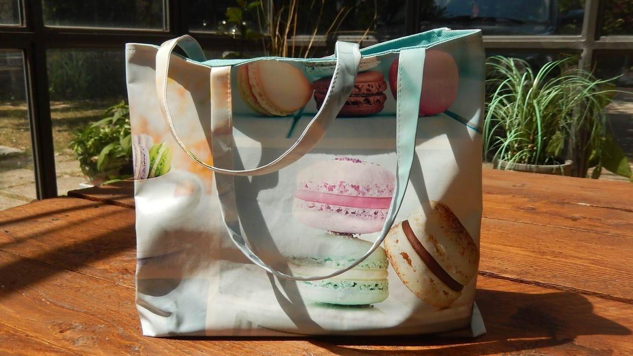 Tasche aus Wachstuch selber nähen - leichte Nähanleitung mit ...