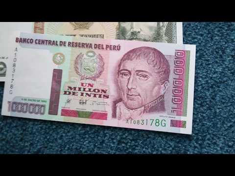 #Currency Special Part 72: Peruvian Intis/ Nuevo Soles