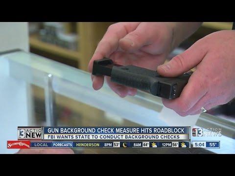 Nevada gun background check expansion hits roadblock