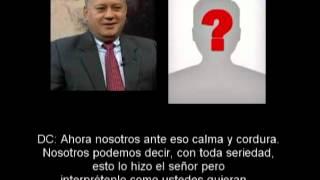 EL AUDIO DE DIOSDADO CABELLO. ACEPTA TRIUNFO DE CAPRILES