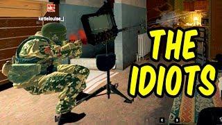 The Idiots - Rainbow Six Siege Funny Moments & Epic Stuff