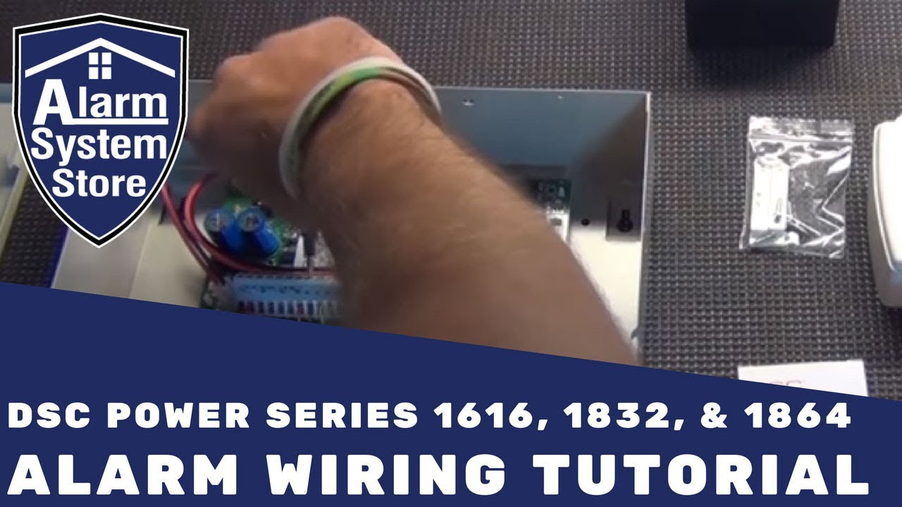 small resolution of alarm system store tech video dsc power series basic wiring