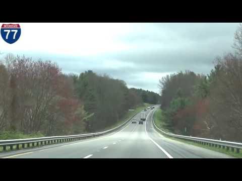 I 77 South - Virginia and North Carolina