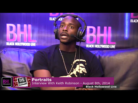 Keith Robinson Interview: Motown Records, Growing Up in Georgia & More | BHL