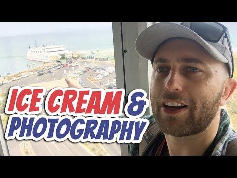 Ordering Ice Cream & Bird Photography | Daily English Vlog