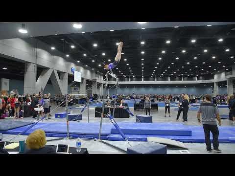 Lyden Saltness - Uneven Bars - 2018 Women's Junior Olympic National Championships