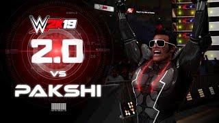 2.0 Chitti vs Pakshi Rajan - WWE2K19 Match Remix