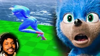 SONIC THE MOVIE THE VIDEO GAME