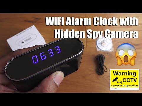 wifi-hidden-spy-camera-alarm-clock-full-hd-1080p-unboxing-and-setup