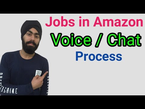 Jobs In Amazon | Voice & Chat Process | How To Apply Online