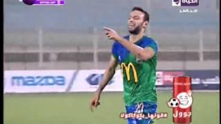 هدف مصر المقاصة الثاني في دون بوسكو بطولة افريقيا الكونفيدرالية مقابل 0