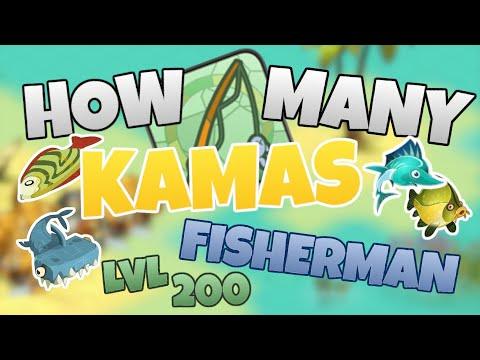 How Many KAMAS Does A Lvl 200 FISHERMAN Make In 2020?