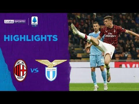 Milan 1-2 Lazio | Serie A 19/20 Match Highlights