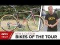 New & Custom Bikes Of The Tour de France 2018 | Tour de France 2018