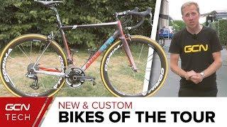 New & Custom Bikes Of The Tour de France 2018