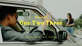 Adikara Fardy - One Two Three | Official Lyric Video