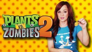 Plants vs  Zombies 2 - Hot Pepper Game Review feat. Andrea Rene