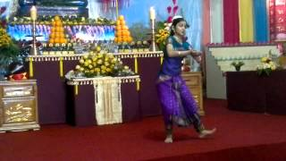 Indian girl dance