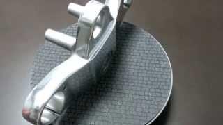RZ250R 3HM アルミ トップブリッジ バフかけ磨き鏡面加工 【バイク スクーター DIY 整備 レストア カスタム】