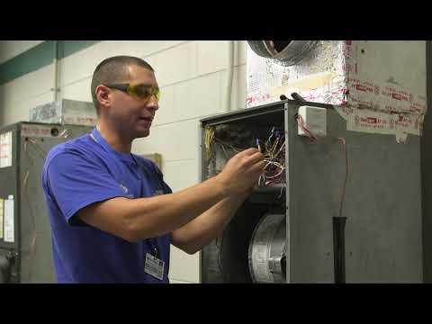 Marchman Technical College HVAC Job Demos: Wiring An Air Handler